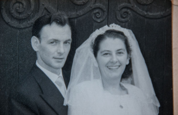 Elsie-Paine-wedding